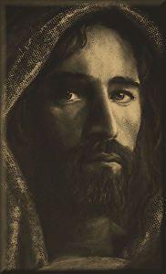 Shepherd -Print on Canvas by Randy Friemel
