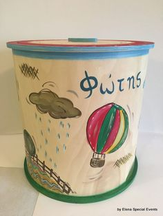 www.artimiva.gr Wooden Toy Boxes, Wooden Toys, Different Shapes, Special Events, Hand Painted, Painting, Wooden Toy Plans, Wood Toys, Woodworking Toys