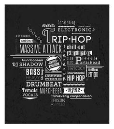 Trip-Hop Tribute by Jessica Leavitt, via Behance