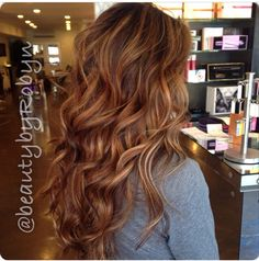 Balayage on brown hair by Robyn Zekaria.