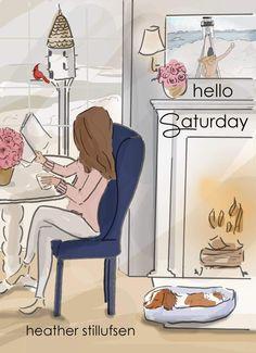 Heather stillufsen on glamour weekend quotes, hello saturday Hello Saturday, Hello Weekend, Bon Weekend, Happy Weekend, Hello Friday, Hello Hello, Happy Saturday, Saturday Night, Rose Hill Designs