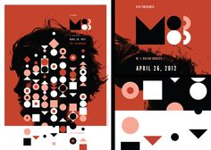 M83 Poster by Invisible Creature.