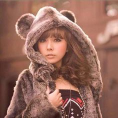 Ladies Winter Warm Fashion Mink Fur Coat