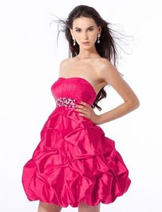 Cute hotpink dress... <3