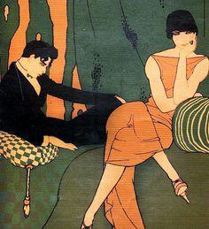 """Illustration as it used to be... - nevver: Ernesto García """"El Chango"""" Cabral (1890..."""
