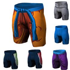 Men's Clothing Super Men Shorts Beach Anime Dragon Ball Casual Summer Board Short Breathable Goku 3d Print Bodybuilding Quick Dry Zootop Bear Wide Varieties