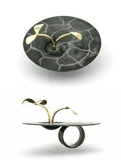Origin, ring, by Laura Forte