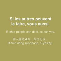 Le français et vous