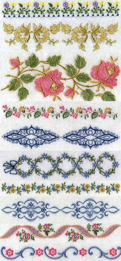 machine embroidery projects | Secrets of Machine Embroidery – Embroidery Designs,Embird,Projects