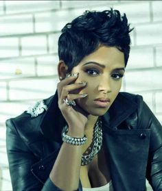 Short hairstyles for black women - very cute! My next cut! http://www.shorthaircutsforblackwomen.com/coconut-oil-for-hair