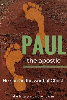 Paul - he fervently believed, acknowledged, lived and shared the Good News of Jesus Christ. #LiftHimUp