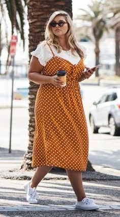 Gorgeous 37 Trending Spring Plus Size Outfits for Women 2019 - Large Size . - Gorgeous 37 Trending Spring Plus Size Outfits for Women 2019 – Large Size Fashion for Chubby - Older Women Fashion, Plus Size Fashion For Women, Plus Size Womens Clothing, Curvy Fashion, Fashion Models, Fashion Outfits, Clothes For Women, Plus Size Autumn Fashion, Womens Fashion