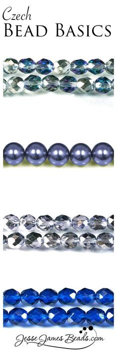 Bead spacers for jewelry making. Faceted glass and pearls. Czech glass beads in unique colors. Tanzanite beads with creative color finishes
