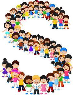 Los niños pequeños forman el alfabeto S Alphabet Letters Design, Alphabet Art, Alphabet And Numbers, Princess Illustration, School Clipart, School Accessories, Alice In Wonderland Party, Music For Kids, Lettering Design