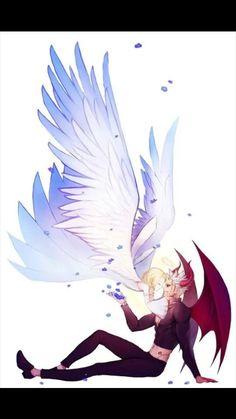 "Nanatsu no Taizai ""The Seven Deadly Sins"" - Elaine & Ban Seven Deadly Sins Anime, 7 Deadly Sins, Anime Love, Ban And Elaine, Image Princesse Disney, Manga Romance, Manga Anime, 7 Sins, Seven Deady Sins"