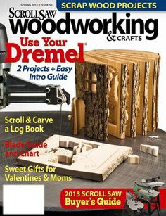 Scroll Saw Woodworking  Crafts - Scroll Saw Woodworking  Crafts is the how-to magazine for woodworkers  crafters at any skill level.  Each issue contains ready-to-use patterns and tutorials that introduce new skills and techniques. Cli