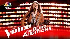 """The Voice 2016 Blind Audition - Matt Tedder: """"(I'm Your) Hoochie Coochie..."""