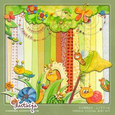 Quality DigiScrap Freebies: Summer Little mini kit freebie from Nastasja