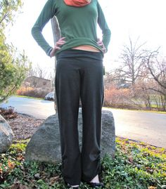 ruched yoga pants...im all over that