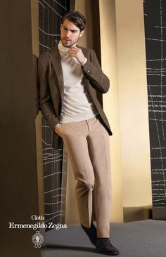 Sacou Zegna made to measure.Zegna  Premium Cashmere 100% Casmere, 300 Gr. Available in 3 colours: navy, brown and light brown.