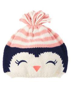 Sweet little penguin hat from Gymboree.