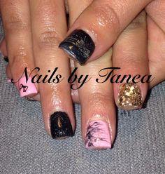 Gel nails. Nails 2013. Nailed by Tanea.