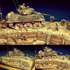 "A prelude to ""Fury"" 1/35 diorama Italeri and Tamiya. Modeler Paul Keefe #scalemodel #plastimodelismo #miniatura #miniature #miniatur #plasticmodel #plastimodelo #scalemodelkit #usinadoskits #udk #fury #diorama #hobby #modelismo #modelism #modelisme"