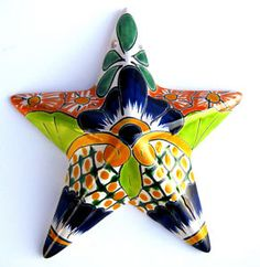 Star wall decor.  I love this - I need it for my star wall!!
