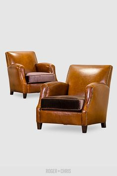 Leather Armchairs And Sofas Parisian Western Metro Howdy Roger Chris