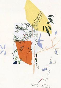 Moodboard d'inspiration par Lucille Boitelle. Photo © Tous droits réservés