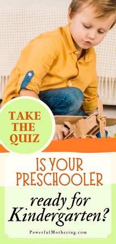 Not entirely sure if your preschooler is ready for kindergarten? That's alright! It can be tricky to know if that's the case and as a parent, you just want what's best for him/her! Check out the blog for more details on a little quiz to help you decide your stance on whether or not your little one is ready for the next step of schooling! This quick test will surely allow you to evaluate your child's behavior without the added pressure of an audience! #preschooler #graduation #kindergarten Parenting Articles, Parenting Hacks, Kids Behavior, Raising Kids, Kindergarten, Graduation, Preschool, Science, Activities