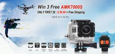 Win Your Free Sports Camera from Tomtop - Mobiles-Coupons Sports Camera, Mobiles, Cameras, Coupons, Remote, Gadgets, Action, Activities, Free