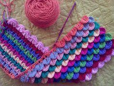 Cool crochet stitch: