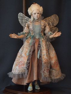 fairy godmother marionette by Kat Soto. This would make a great Xmas tree topper