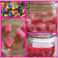 Bubble gum vodka! I'm so doing this! It's wayyy too easy