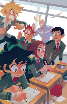 class start!!! by genicecream on DeviantArt || My Hero Academia || Boku no Hero Academia ||