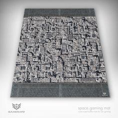 Star Wars Inspired Death Star Surface Organizer Game Mat