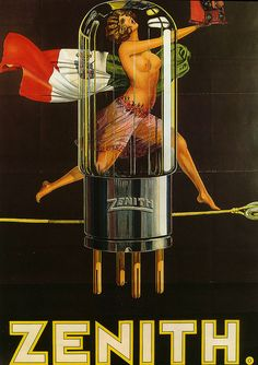 Topless On The Tightrope - Zenith Vacuum Tubes