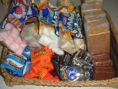 The Neighbor's Blog: Monday Memories – A S'mores Basket