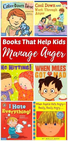As parents we need to help our children understand their feelings and build social-emotional skills for coping with feelings such as anger in safe ways. Learning how to manage emotions is important to a child's psychological health and development. There are books on this list for kids of all ages; toddlers, preschoolers, elementary aged kids and teens. #ParentingTeacher #ParentingTipsNeeded
