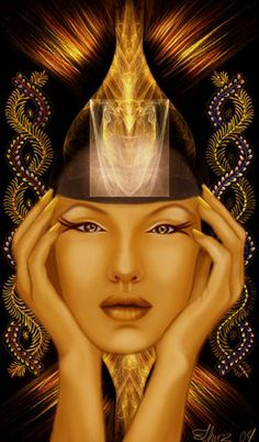 Opening the third eye....