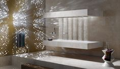 Horizontal Shower by Sieger Design