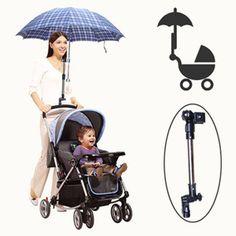 Universal Baby Pram Stroller Accessories Umbrella Holder Mount Stand Handle LH for sale online Baby Jogger Stroller, Pram Stroller, Baby Strollers, Double Strollers, Baby Stroller Accessories, Baby Accessories, Umbrella Stroller, Sun Umbrella