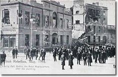 1916 - Easter Rising in Ireland