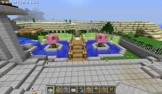 Minecraft Zen Garden flower garden minecraft project | *minecraft stuff | pinterest