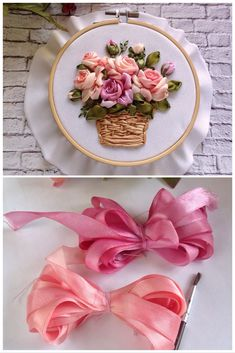 Hobby Lobby Bathroom Shelf - - Hobby Noiva E Madrinhas Estampado - - Hobby Room Sewing - New Hobby Inspiration Hand Embroidery Videos, Embroidery On Clothes, Types Of Embroidery, Silk Ribbon Embroidery, Embroidery Hoop Art, Satin Ribbon Flowers, Tissue Paper Flowers, Cloth Flowers, Ribbon Art