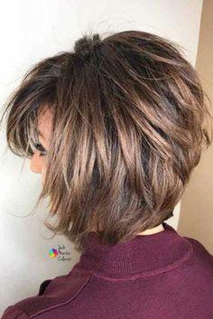 Bob Hairstyles For Fine Hair, Layered Bob Hairstyles, Short Bob Haircuts, Haircuts With Bangs, Short Hairstyles For Women, Hairstyles Haircuts, Hairstyles Pictures, Trending Hairstyles, Latest Hairstyles