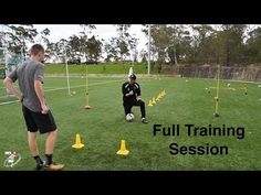 FULL SESSION | Loads of different football drills | Bailey Chapo | Joner 1on1 - YouTube