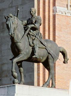 """Donatello, Equestrian Monument of Erasmo di Narni """"Gattamelata"""""""