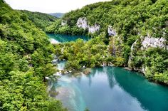 A look at the beautiful Plitvice Lakes National Park in Croatia.
